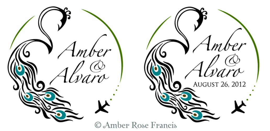 Logo Event Design Itch To Get Hitched Amber Rose Francis